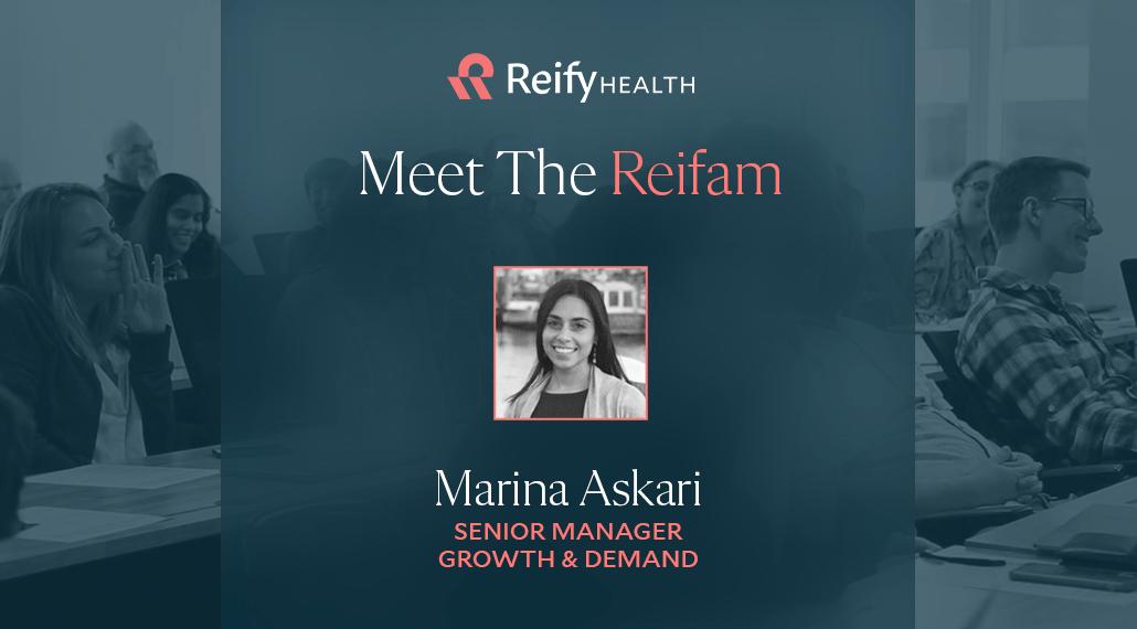 Meet the Reifam: Marina Askari